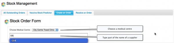 Create an order manually